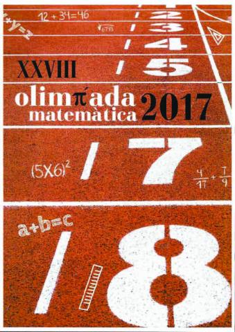 Cartell Olimpíades Matemàtiques 2017